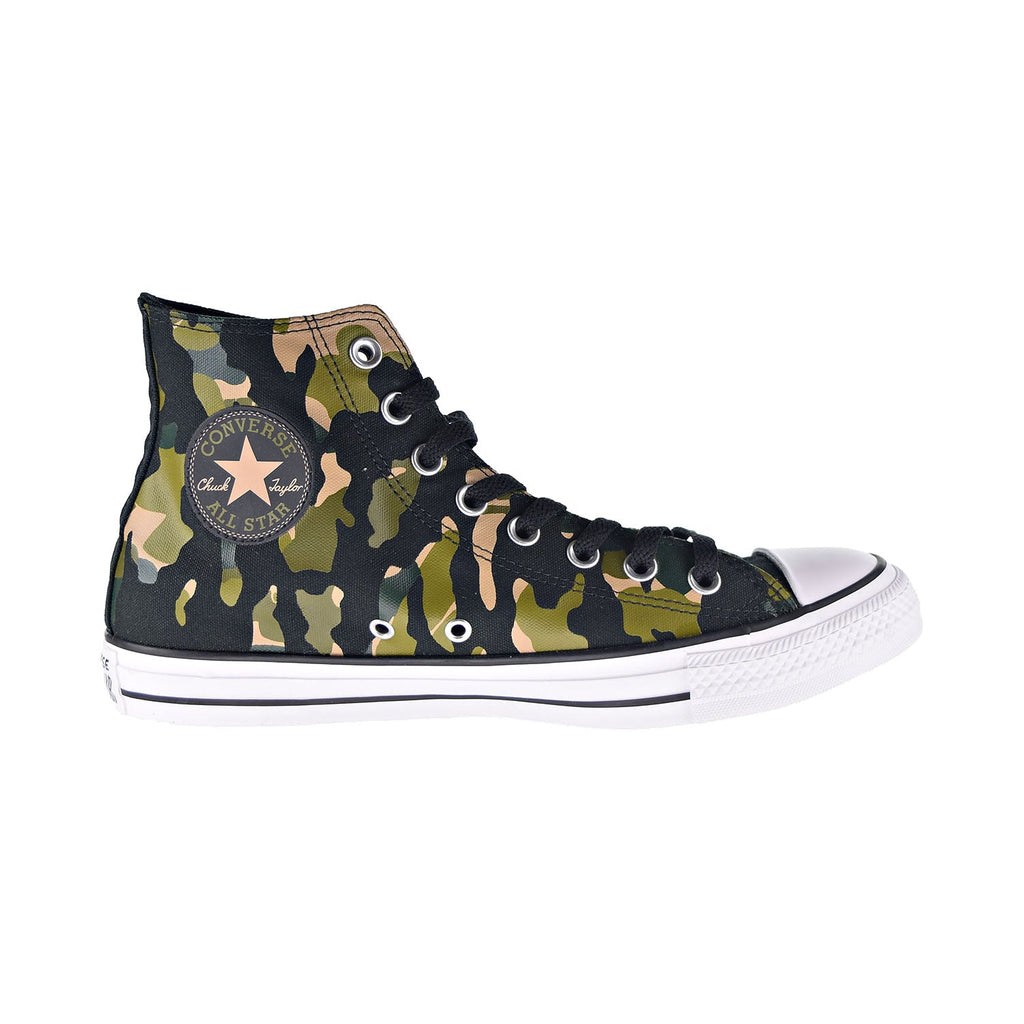 Converse Chuck Taylor All Star Hi Men's Shoes Black-Desert Khaki-Camouflage