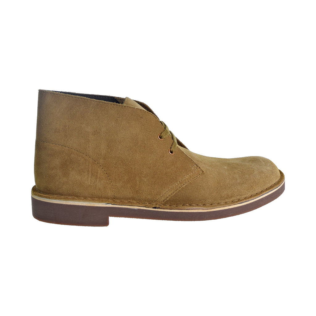 Clarks Bushacre 2 Men's Shoes Wheat Suede