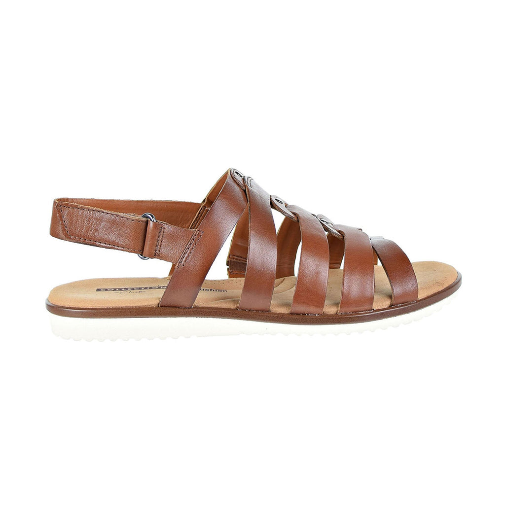 Clarks Kele Jasmine Fisherman(Wide Width) Women's Sandals Brown