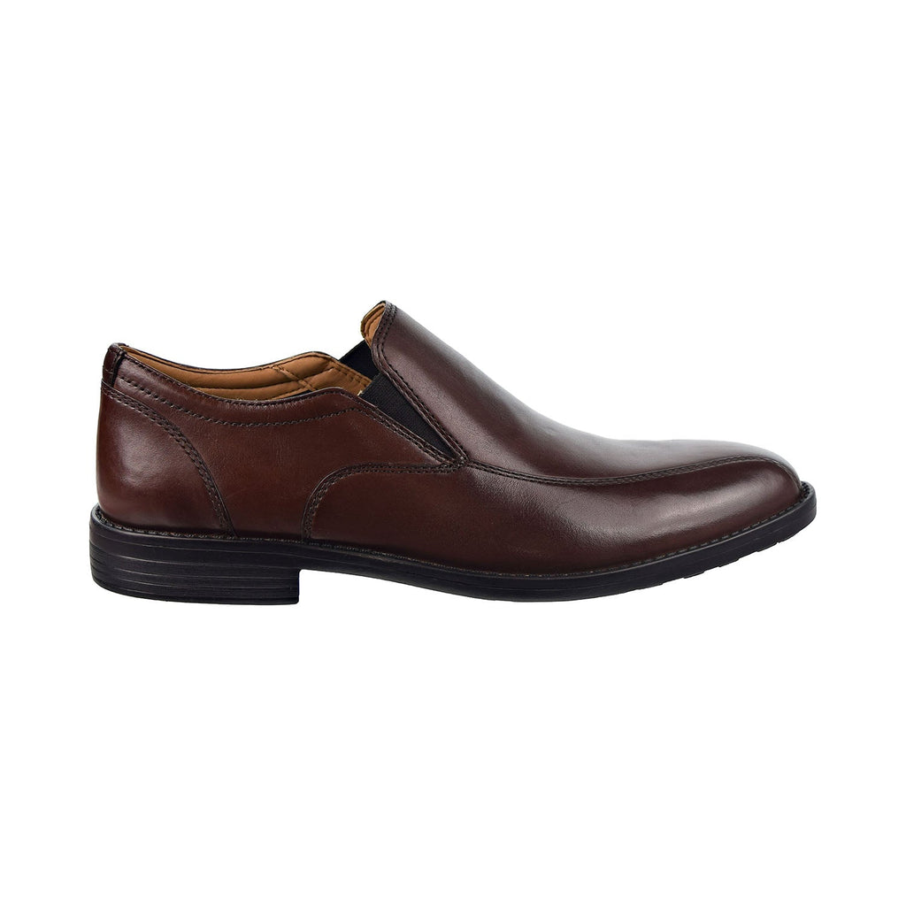 Bostonian Birkett Step Leather Slip-On Men's Shoes Brown