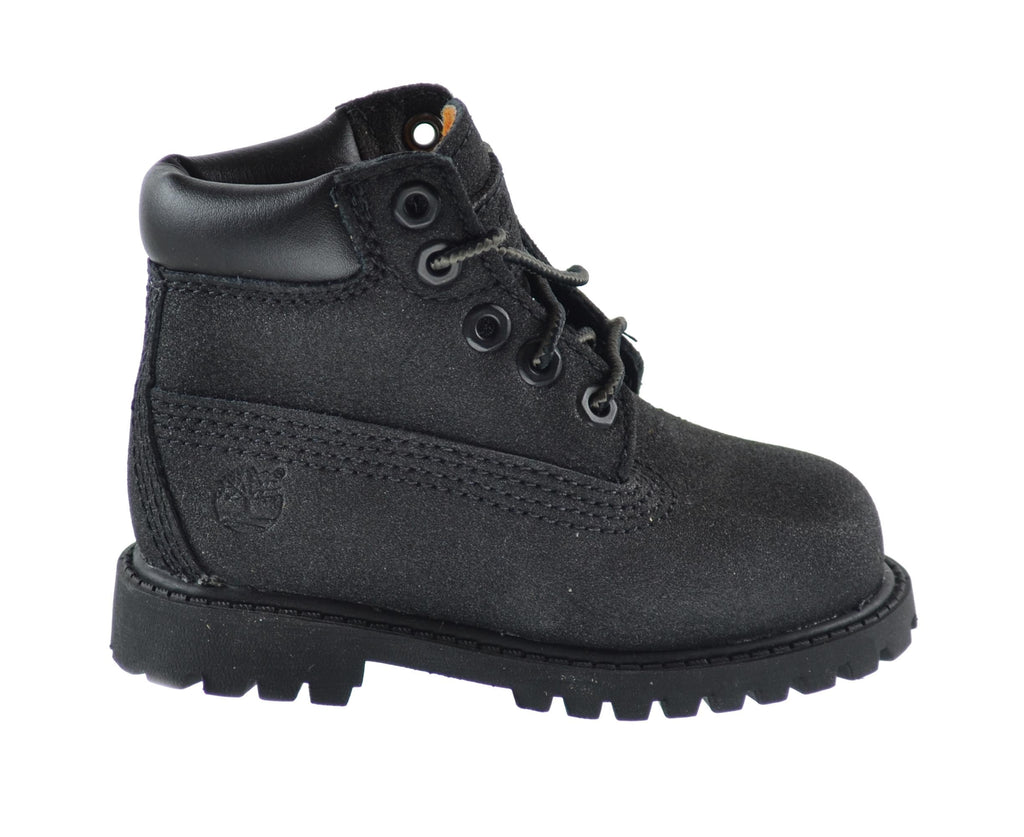 Timberland Baby Toddlers 6 Inch Premium Waterproof Scuffproof Boots Black