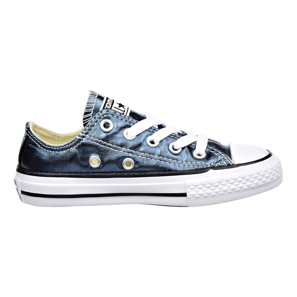 Converse Chuck Taylor All Star Ox Little Kids Blue Fir/White/Black