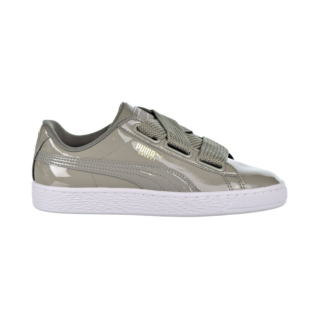 Puma Basket Heart Patent Women's Shoes Rock Ridge