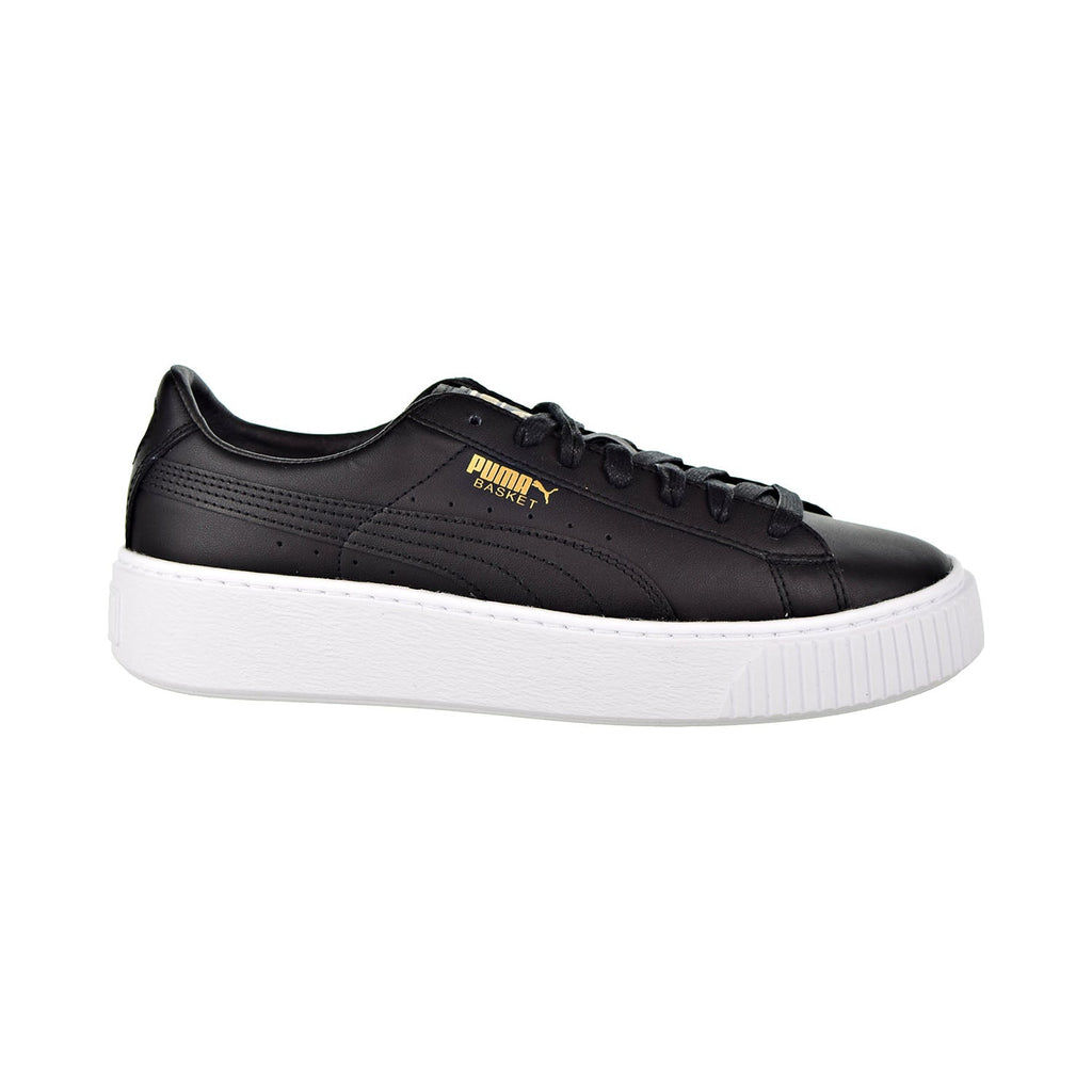 Puma Basket Platform Core Women's Shoes Puma Black/Gold