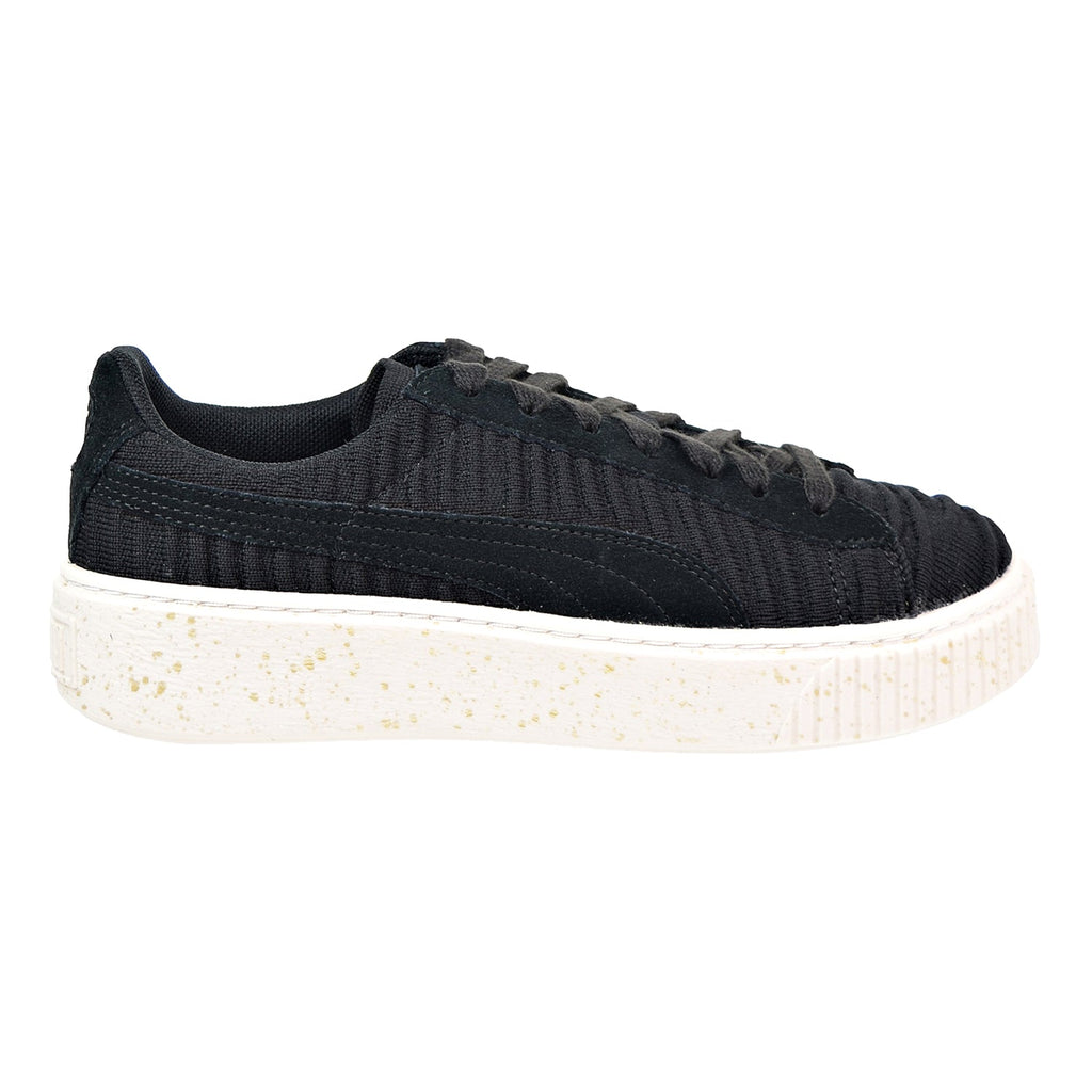 Puma Basket Platform OW Women's Shoes Puma Black/Whisper White
