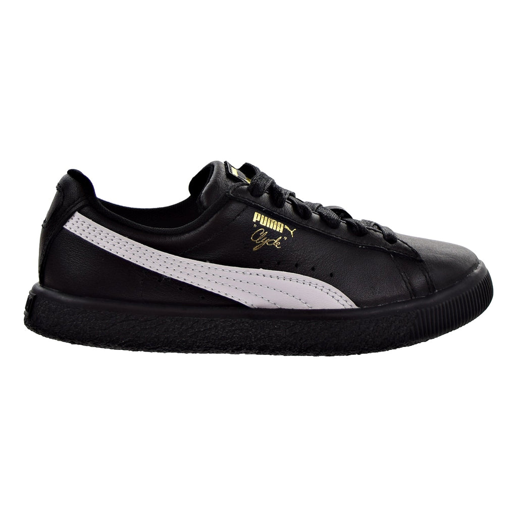 Puma Clyde Core L Foil Little Kid's Shoes Puma Black/Puma White