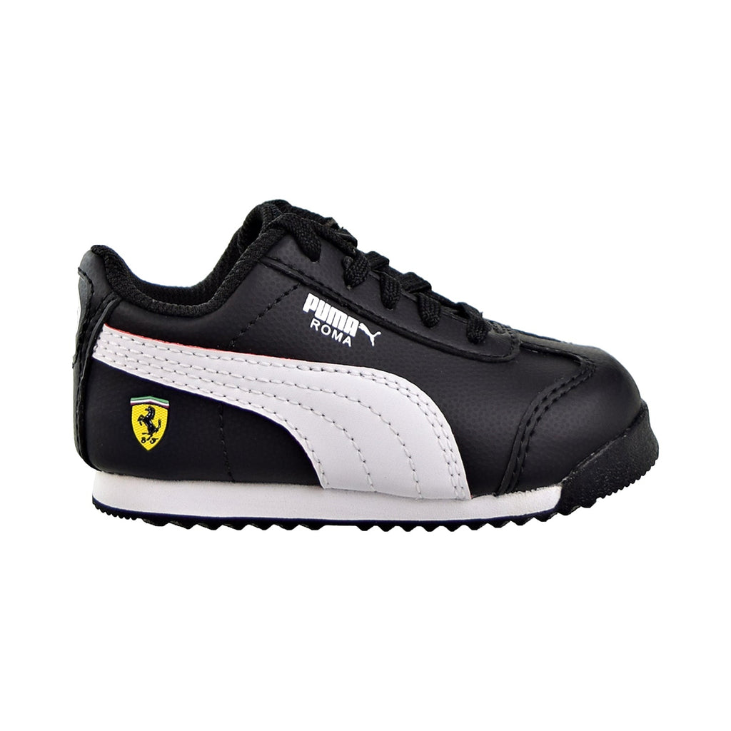 Puma Scuderia Ferrari Roma Toddler Shoes Black/White/Rosso Corsa