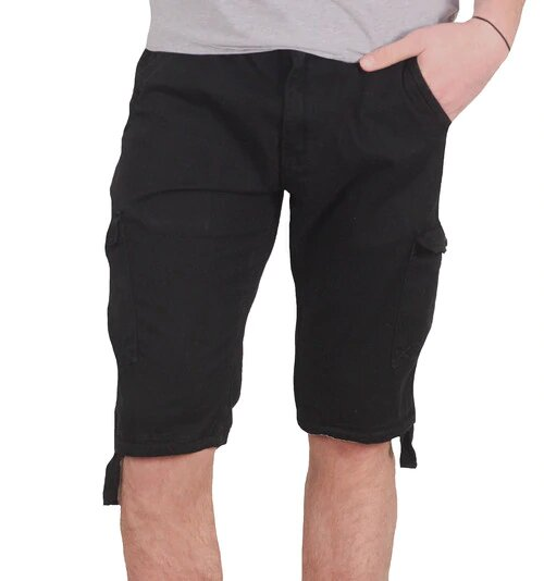 Jordan Craig Basic Cargo Shorts Black