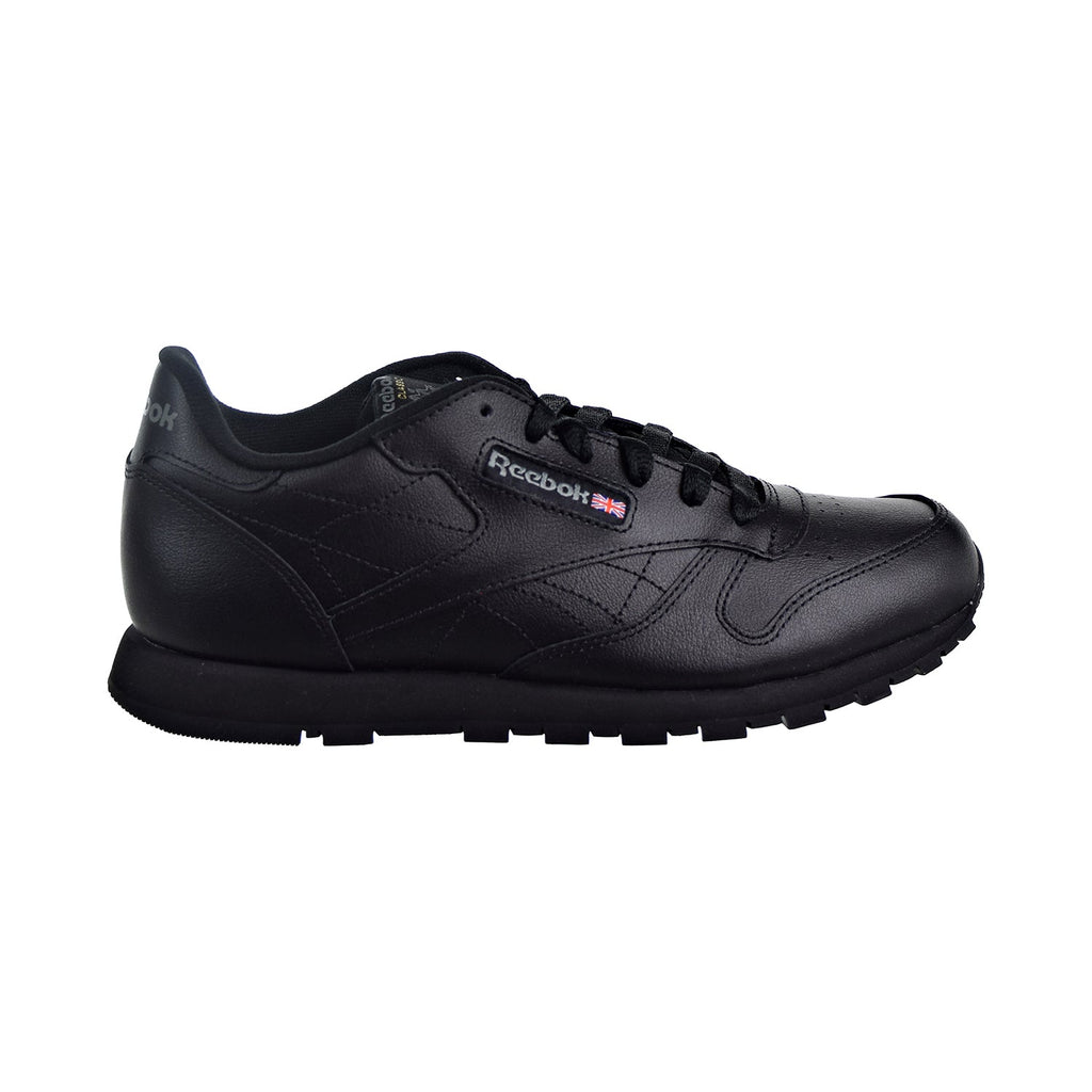 Reebok Classic Leather Big Kids' Shoes Black