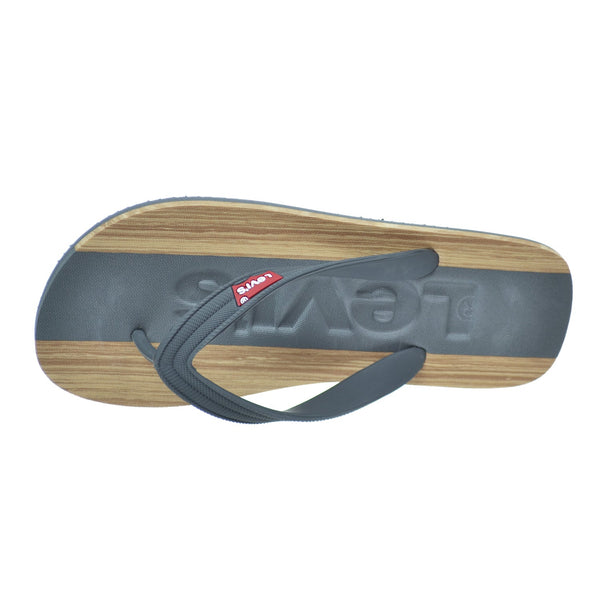 Levis Jayden Men's Sandals Charcoal/Tan