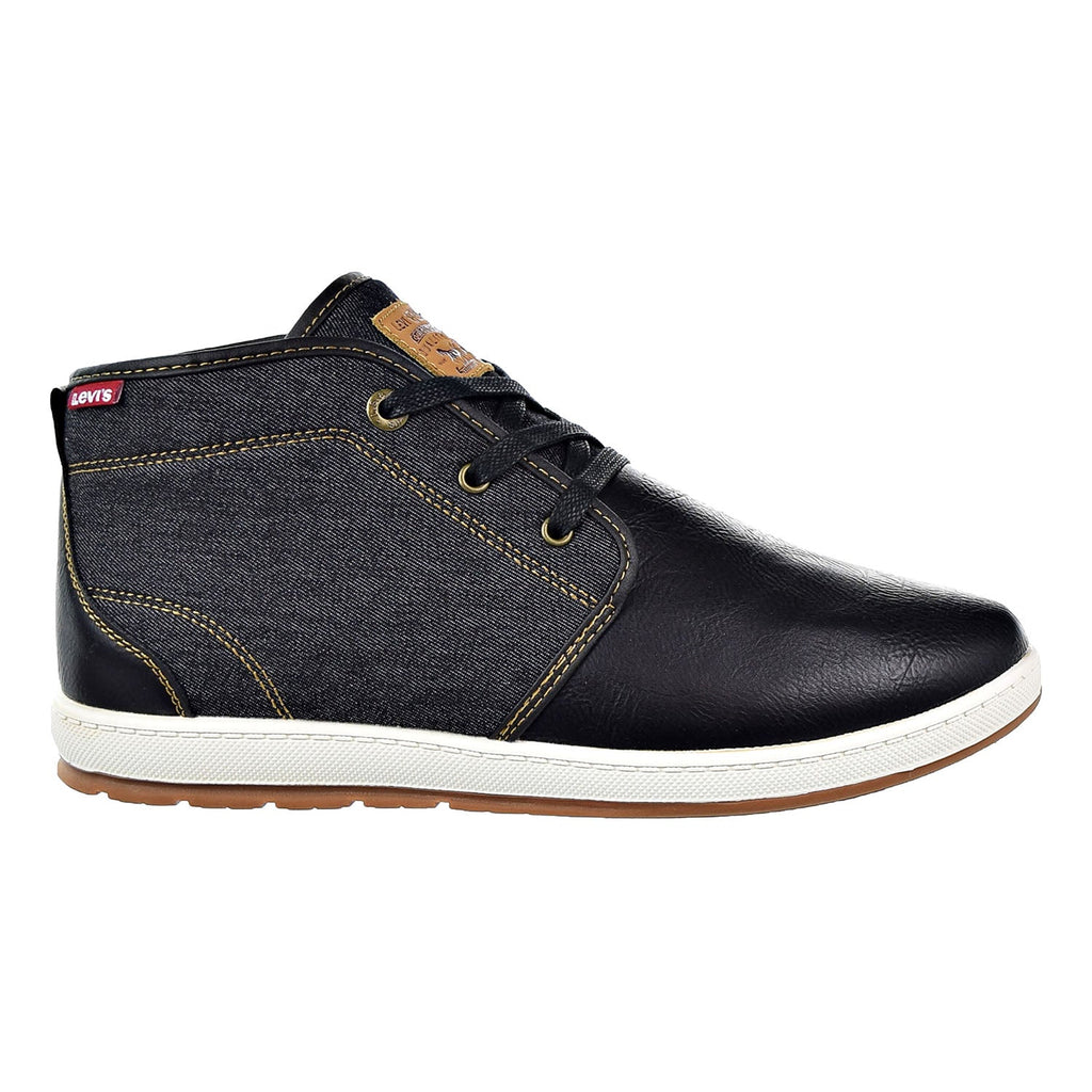 Levi's Ace Millstone Denim Mens Shoes Black