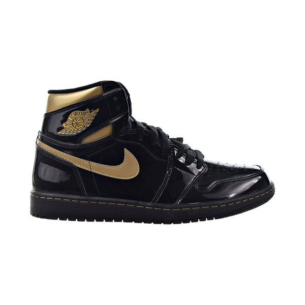 Air Jordan 1 Retro High OG Men's Shoes Black-Metallic Gold
