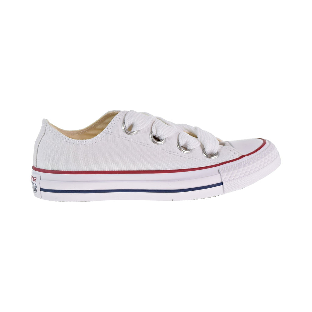 Converse Chuck Taylor All Star Big Eyelets Ox Women's Shoes White/Blue/Garnet