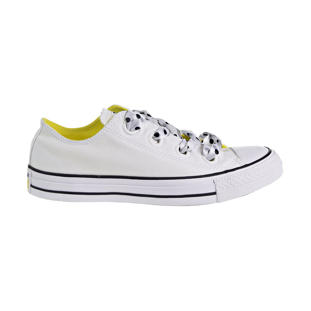 Converse Chuck Taylor All Star Big Eyelets OX Women's Shoes White/Yellow/Black