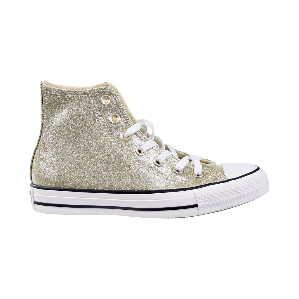 Converse Chuck Taylor All Star HI Women's Shoes Light Gold/White