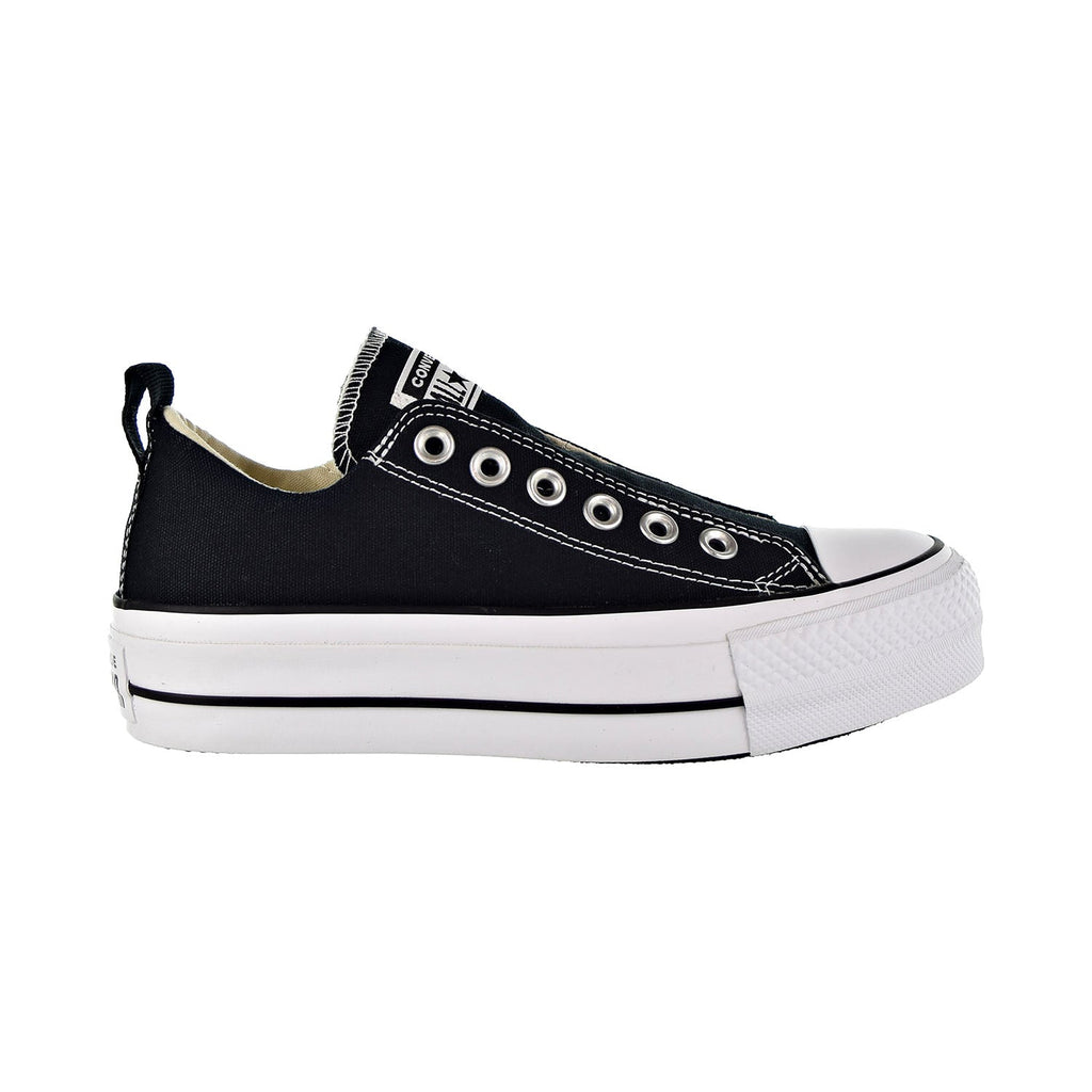 Converse Chuck Taylor All Star Lift Fashion Ox Slip On Women's Shoes Black