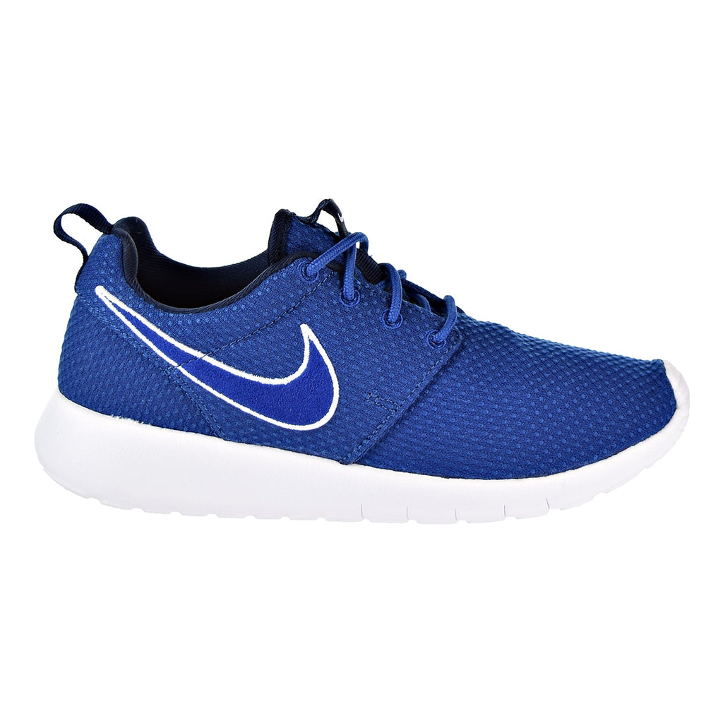 Nike Roshe One Big Kids' Shoes Gym Blue/Obsidian