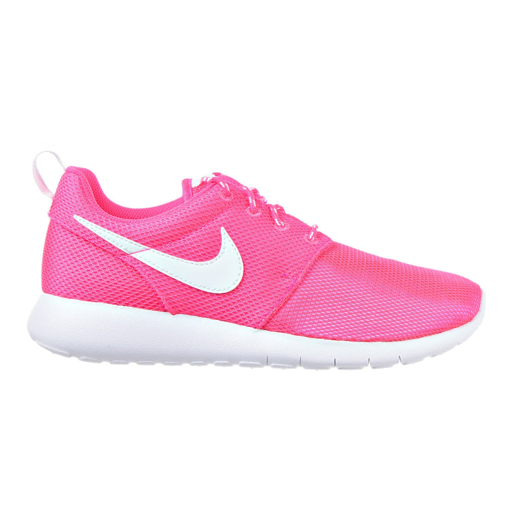 Nike Roshe One (GS) Big Kid's Shoes Hyper Pink/White