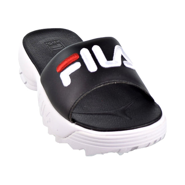 Fila Disruptor Bold Women's Slides Black/White/Red