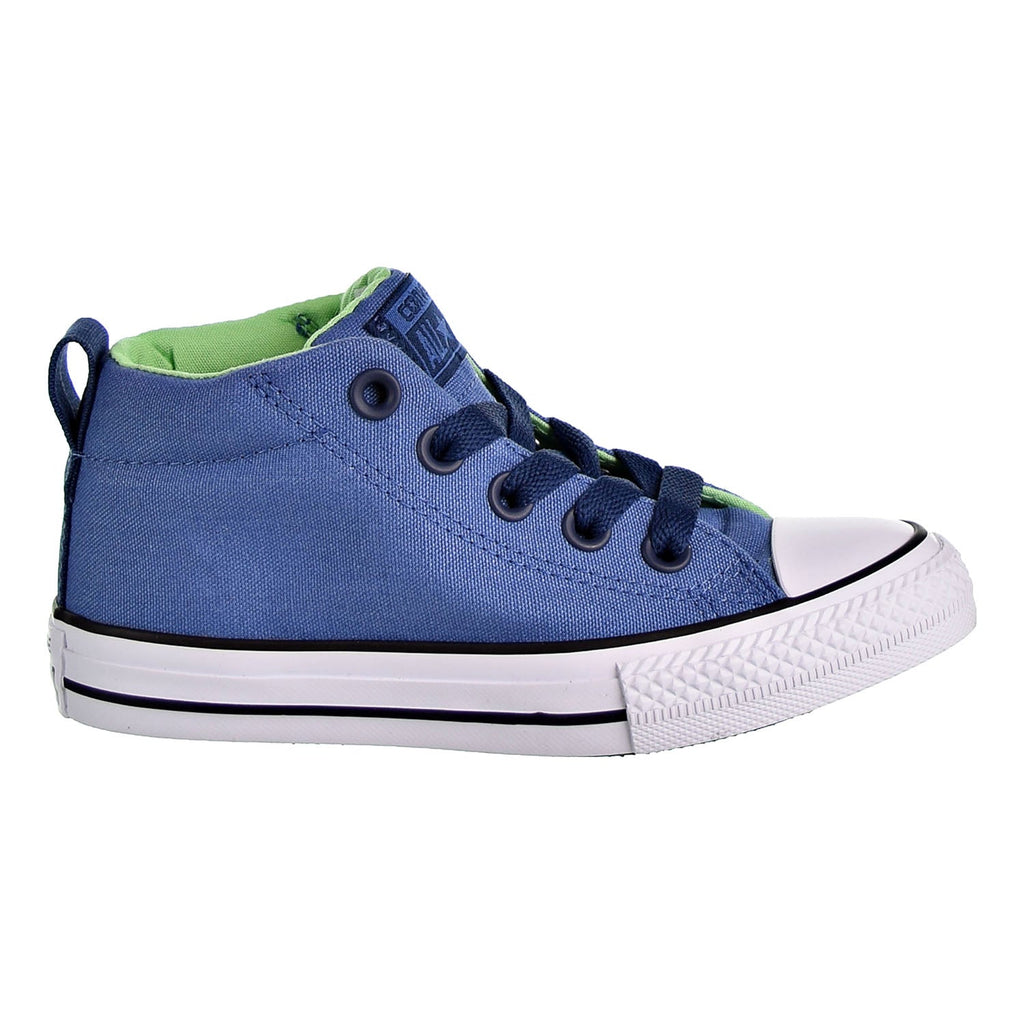 Converse Chuck Taylor All Star Street Mid Kid's Shoes Blue/Navy