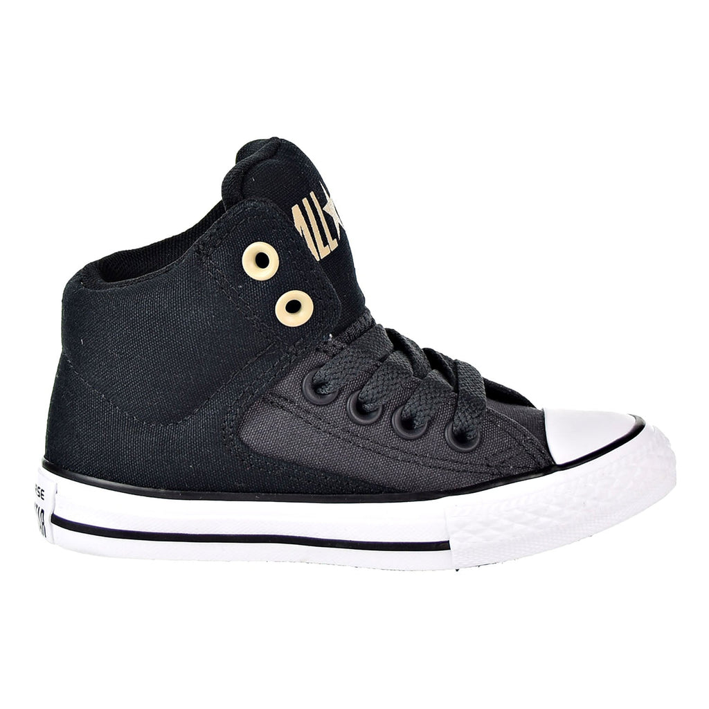 Converse Chuck Taylor All Star High Street Hi Big Kid's Shoes Black/Almost Black