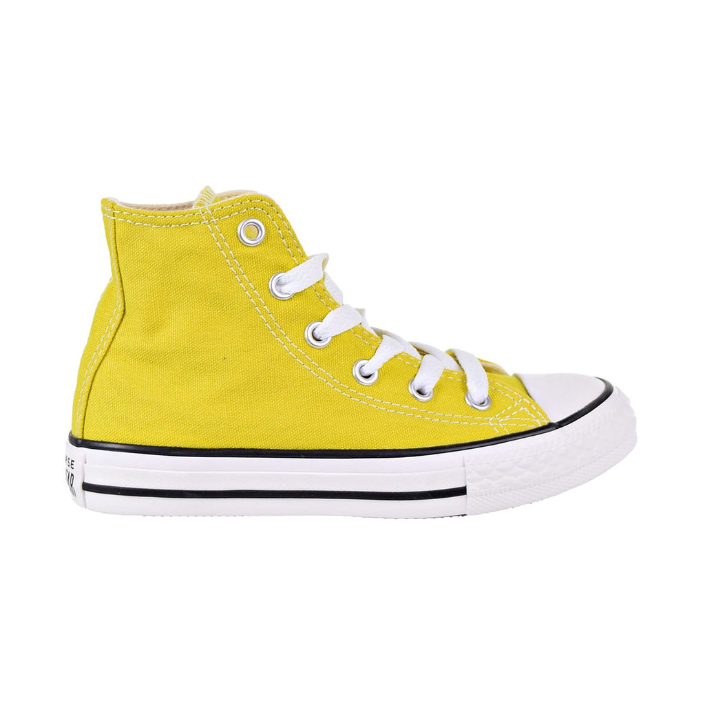 Converse Chuck Taylor All Star Hi Kids' Shoes Bold/Citron/Nature