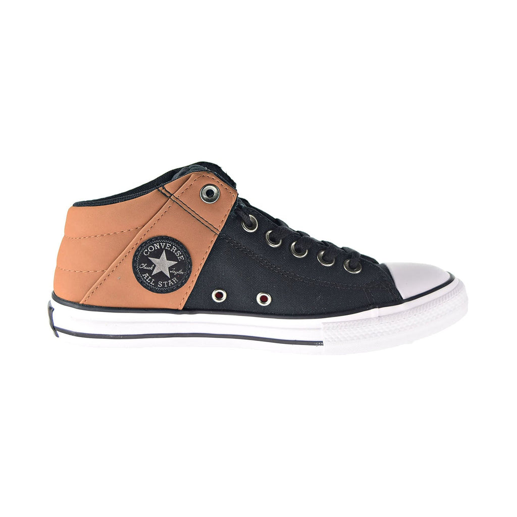 Converse Chuck Taylor All Star Axel Mid Kids' Shoes Black-Warm Tan-White