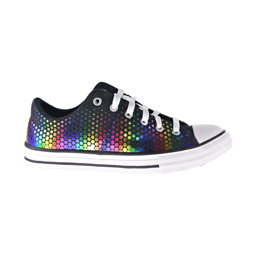 Converse Chuck Taylor AS Madison Ox Rainbow Foil Kids' Shoes Black-Multi