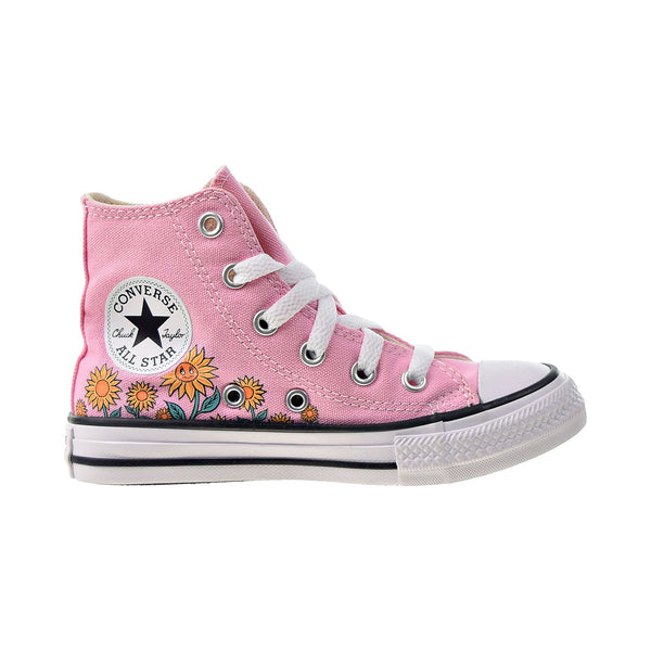 Converse Chuck Taylor All Star Hi Kids' Shoes Pink-Natural Ivory-White