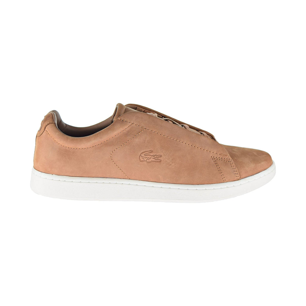 Lacoste Carnaby Evo Easy 319 1 SMA Men's Shoes Brown/Off White