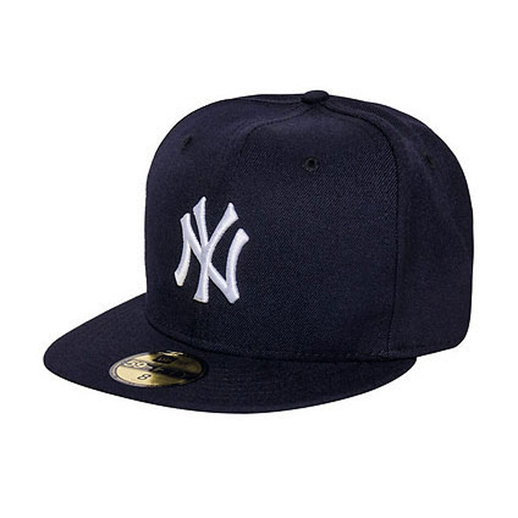 New Era New York Yankees MLB Fitted Men's Hat Navy