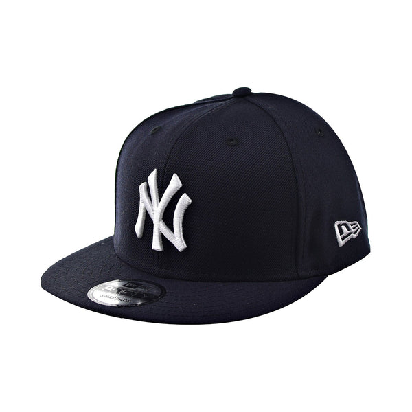New Era 9Fifty New York Yankees Men's Snapback Adjustable Hat Navy-White