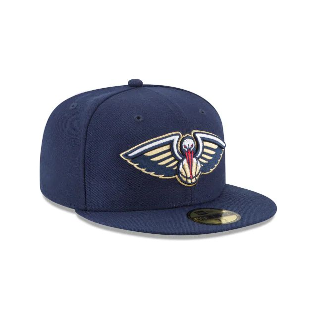 New Era New Orleans Pelicans NBA 59Fifty Fitted Cap Blue