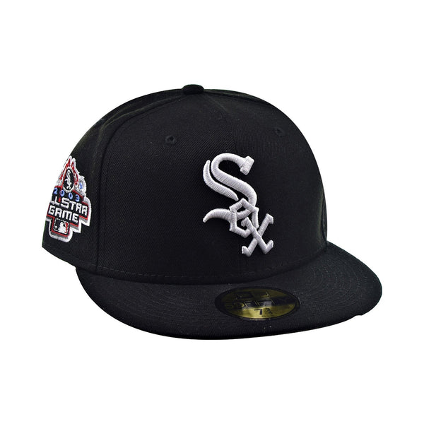 New Era 59Fifty Chicago White Sox Men's Fitted Hat Black