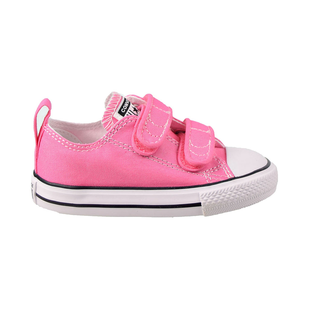 Converse Chuck Taylor All Star Ox Hook And Loop Toddler Shoes Pink