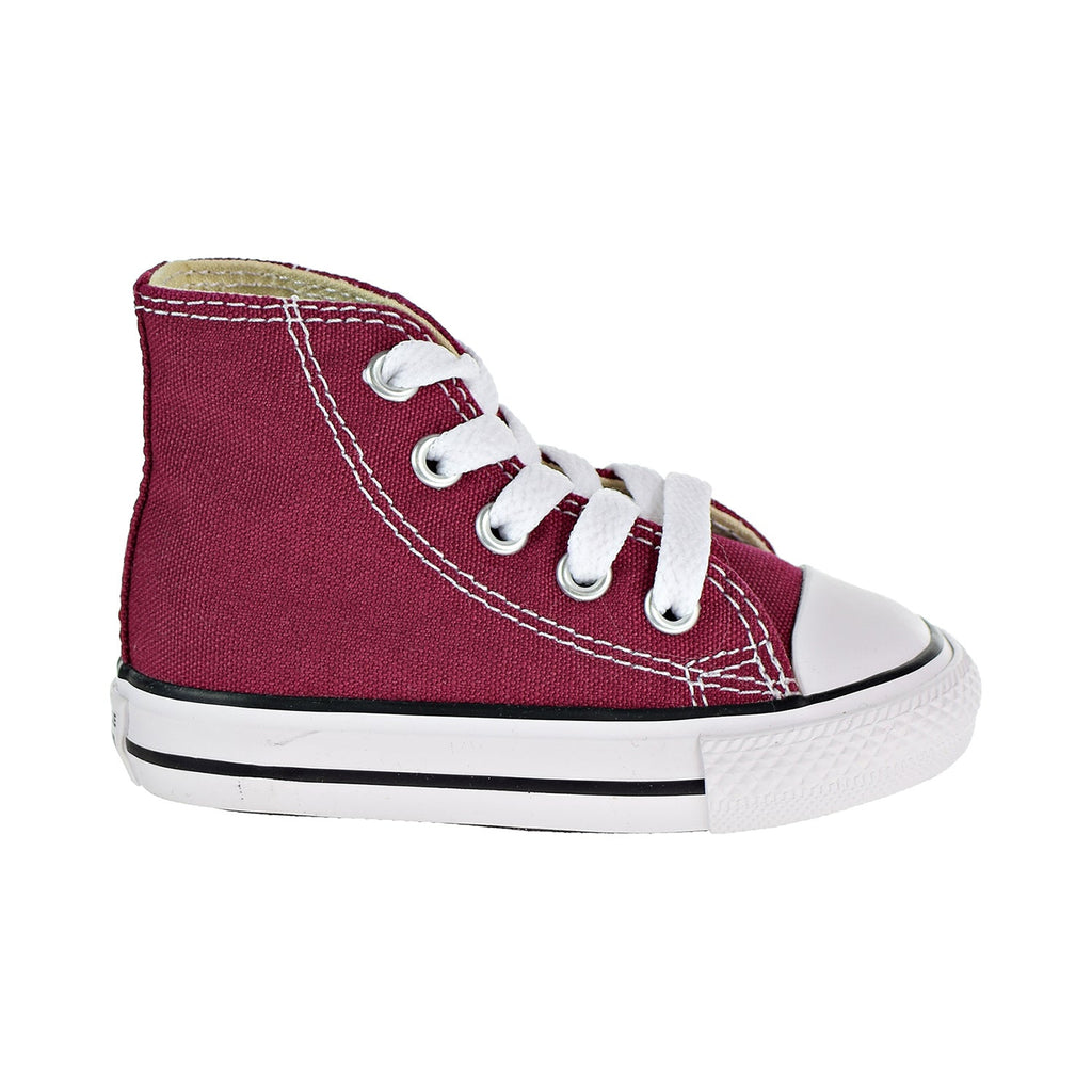 Converse Chuck Taylor HI Toddlers Shoes Maroon