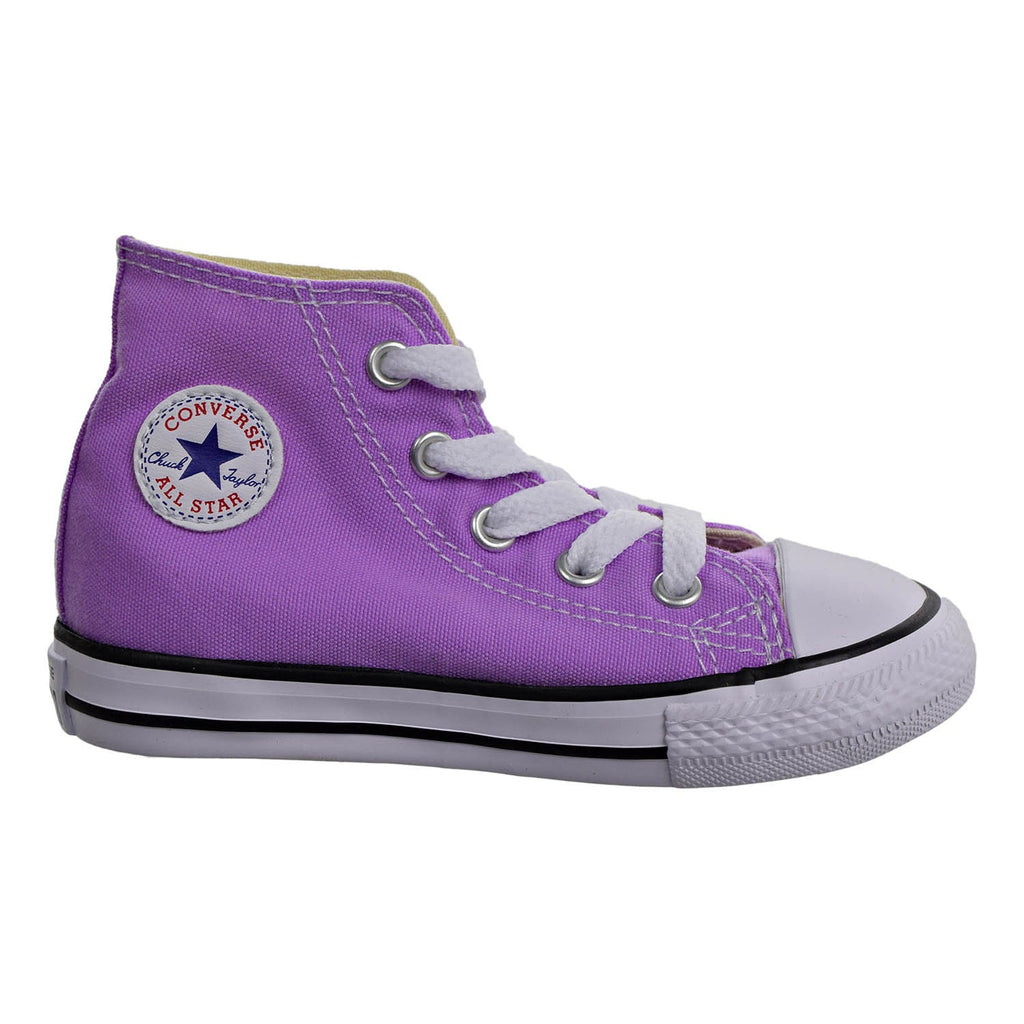 Converse Chuck Taylor All Star Hi Top Infant/Toddler Shoes Fuchsia Glow