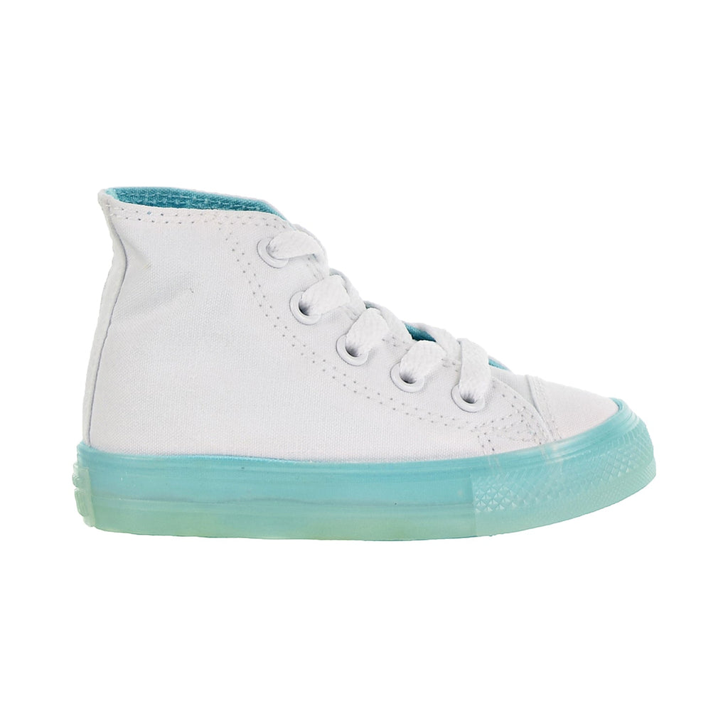 Converse Chuck Taylor All Star Hi Toddler Shoes White/Bleached Aqua