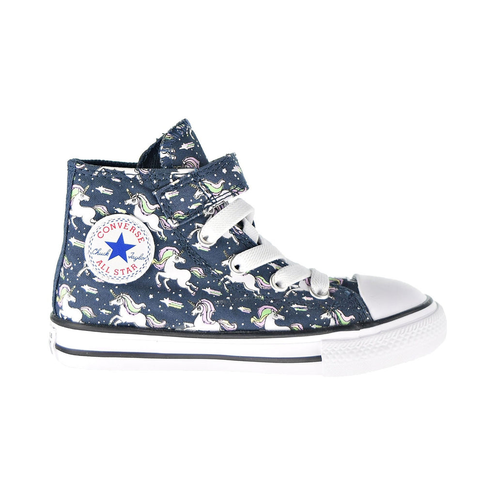 Converse Chuck Taylor AS Unicorns Hook And Loop Toddler Shoes Navy-Black