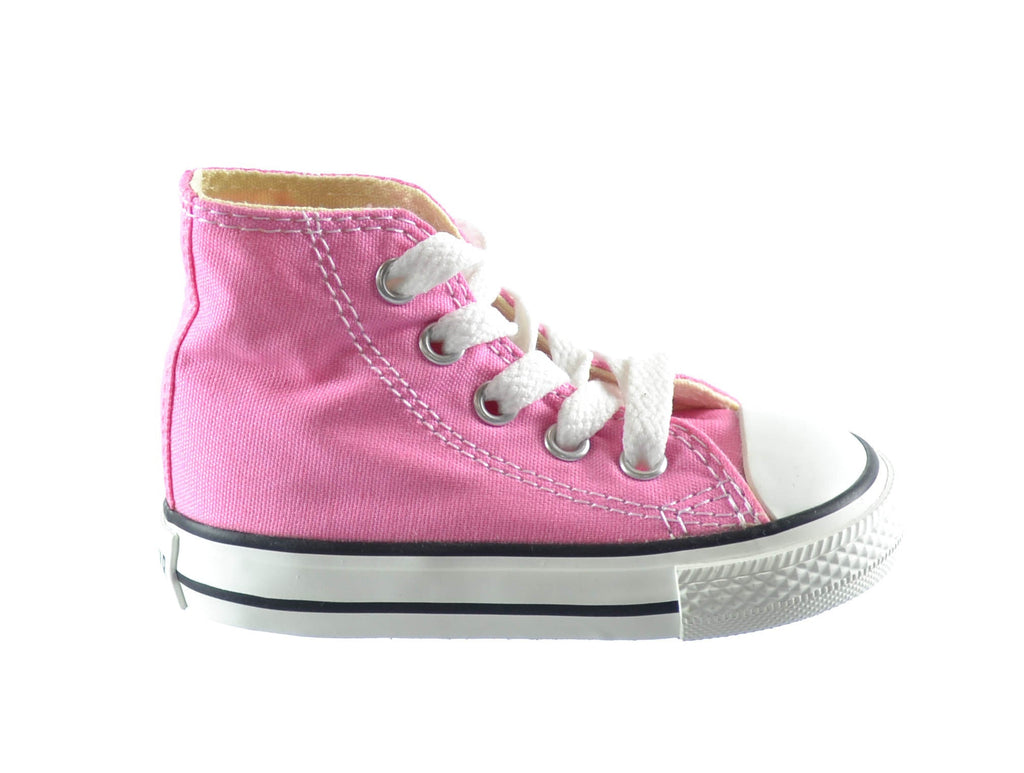 Converse Chuck Taylor All Star High Top Infants/Toddlers Shoes Pink