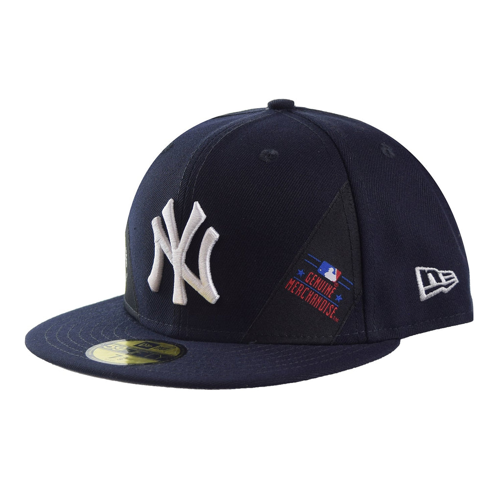New Era New York Yankees Label 59Fifty Fitted Cap Hat Black