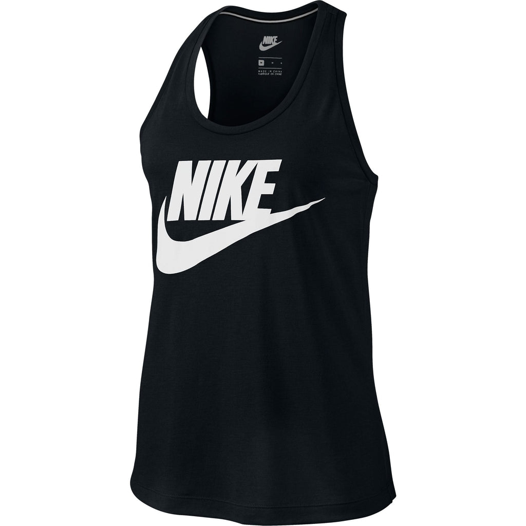 Nike Essential Sportswear Casual Athletic Women's Tank Top Black/White