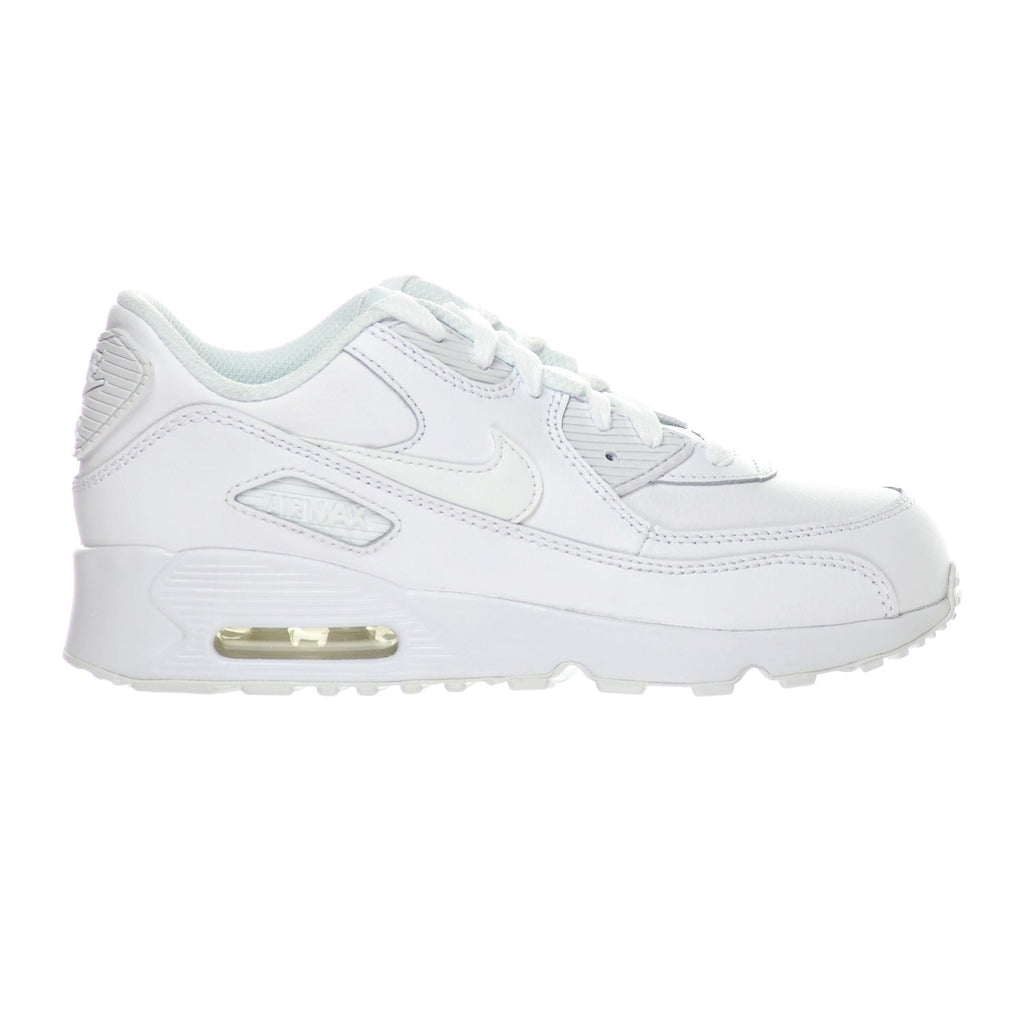 Nike Air Max 90 LTR(PS) Little Kid's Shoes White/White