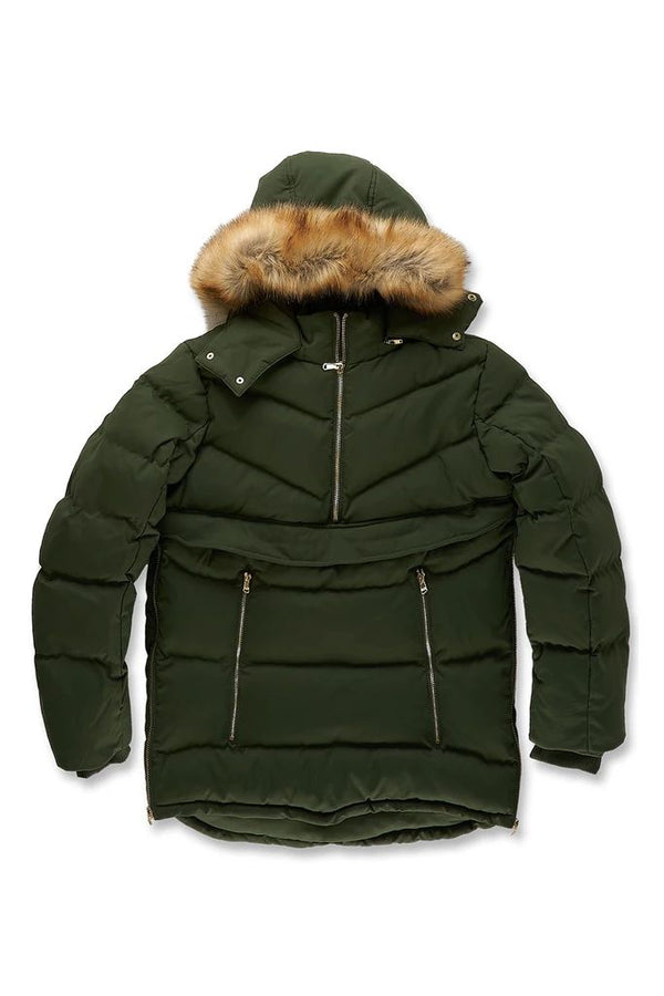 Jordan Craig Concord Pullover Anorak Puffer Men's Jacket 2.0 Army Green