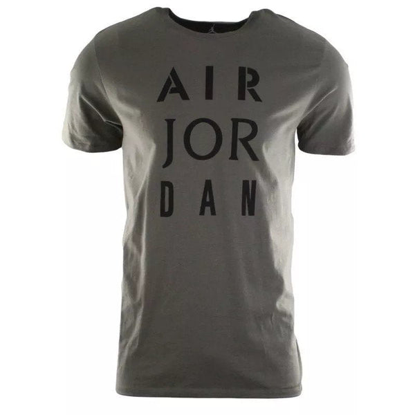 Air Jordan Men's JSW HBR Stencil Tee Green/Black