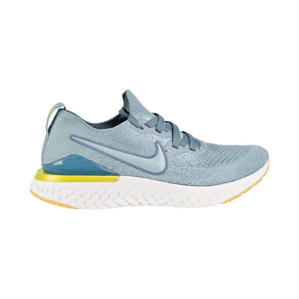 Nike Epic React Flyknit 2 (GS) Big Kids' Running Shoes Aviator Grey/Aviator Grey