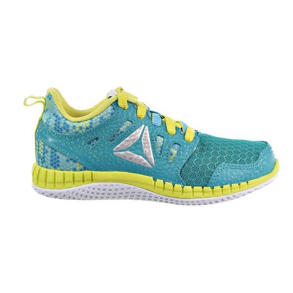 Reebok Zprint 3D MTL Little Kids (PS) Shoes Teal/Blue/Yellow/Silver