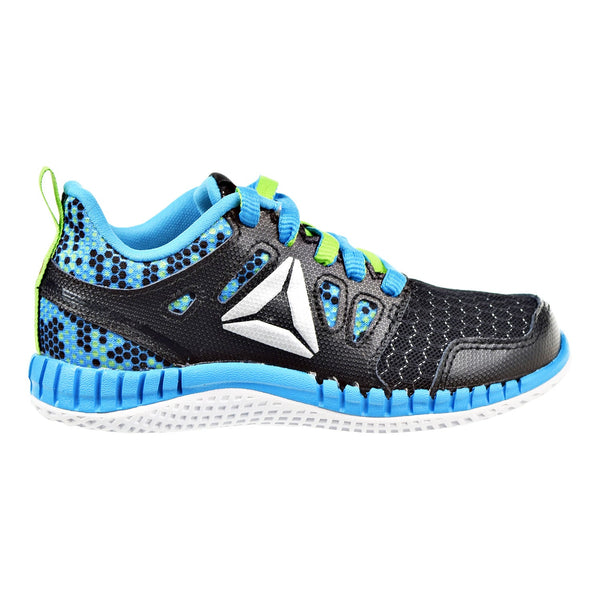 Reebok Zprint 3D MTL PS Little Kids Shoes Black/Green/Blue/Silver