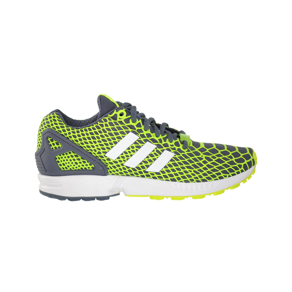 Adidas ZX Flux Techfit Mens Running shoes Yellow/White/Onix