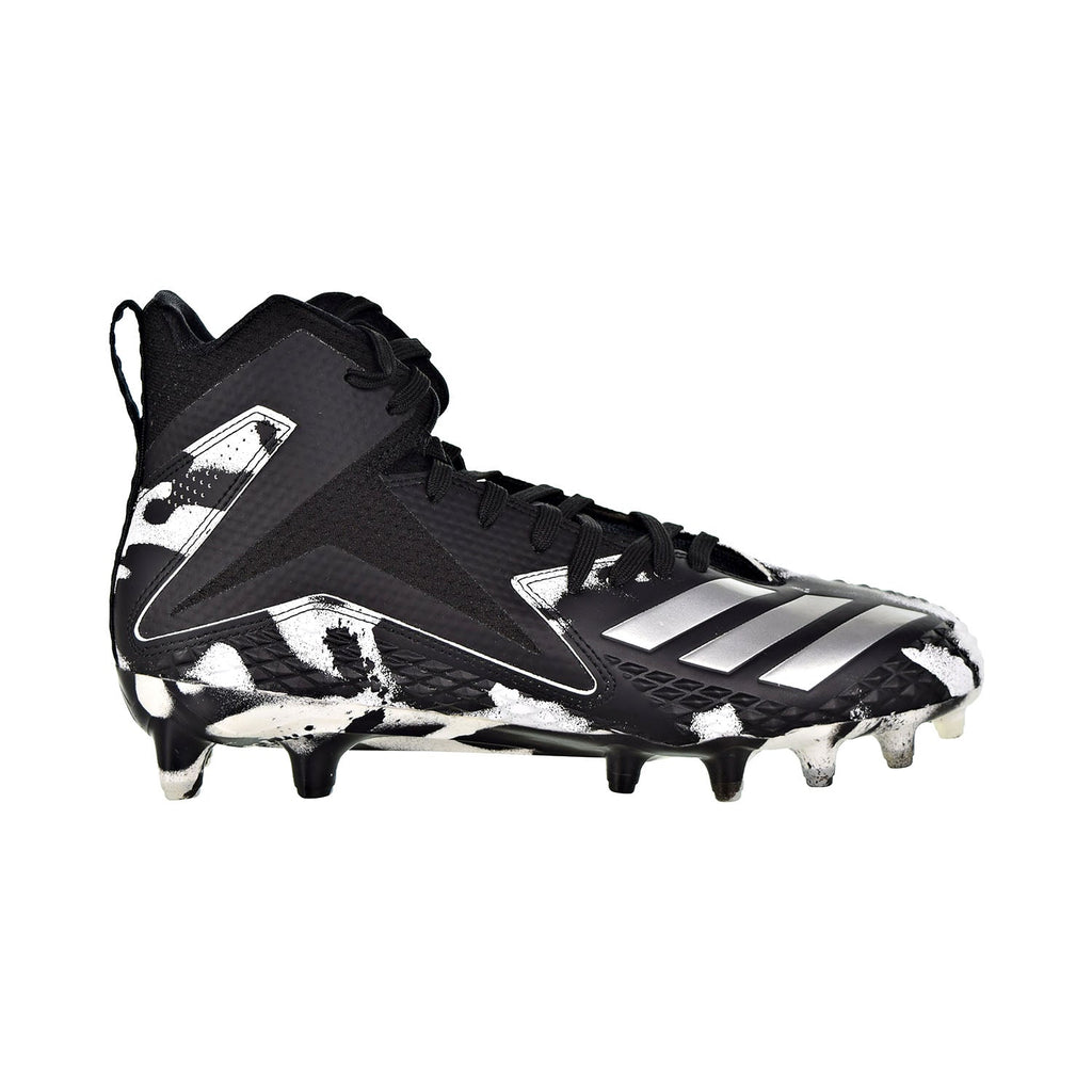 Adidas Freak X Carbon Mid RC Camo Men's Cleats Black/Silver Metallic/Cloud White